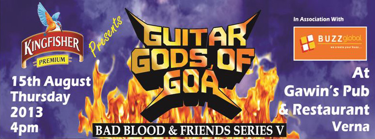 Guitar gods of goa